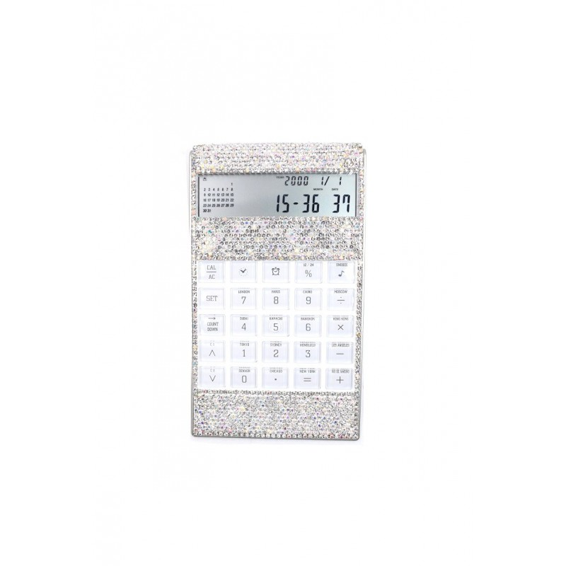 Strass Calculatrice Rouge Bonbons